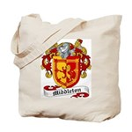 Middleton Family Crest Tote Bag