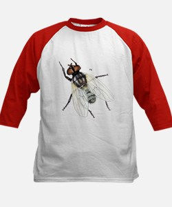 Fly Insect (Front) Kids Baseball Jersey