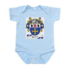 Miller Family Crest Infant Creeper