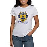 Milne Family Crest Women's T-Shirt