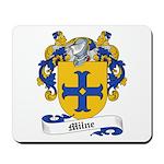 Milne Family Crest Mousepad