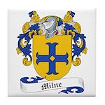 Milne Family Crest Tile Coaster