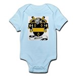 Mitchell Family Crest Infant Creeper