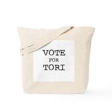 Vote for Tori Tote Bag