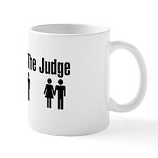Let God Be The Judge Mug