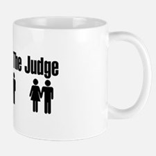 Let God Be The Judge Mug