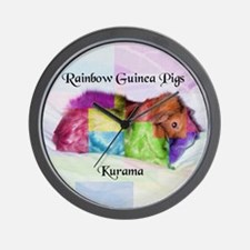 Rainbow Rama Wall Clock