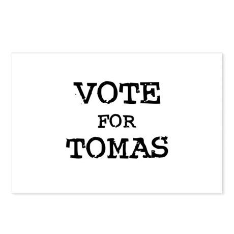 Vote for Tomas Postcards (Package of 8)