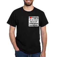 I Love Vlogging Friends T-Shirt