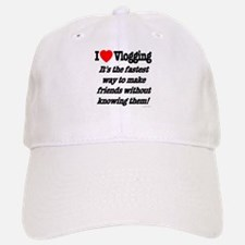 I Love Vlogging Friends Baseball Baseball Cap