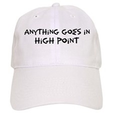 High Point - Anything goes Baseball Cap