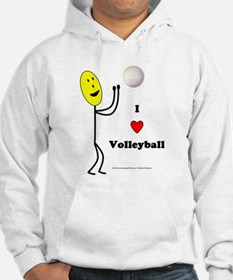 Volleyball Happy Hoodie