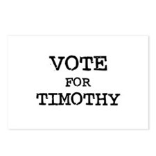 Vote for Timothy Postcards (Package of 8)