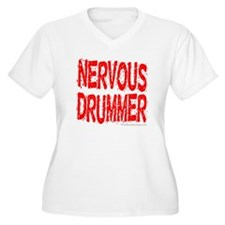"""Nervous Drummer"" : T-Shirt"