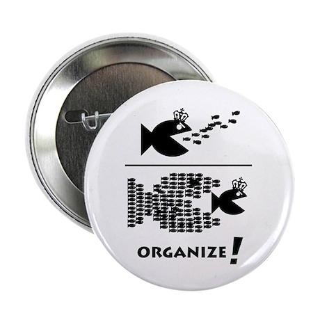 """Organize Fish 2.25"""" Button"""