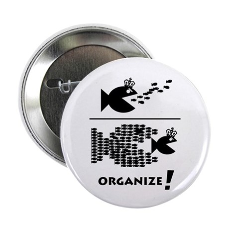 """Organize Fish 2.25"""" Button (10 pack)"""