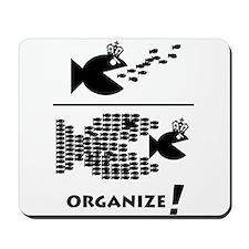 Organize Fish Mousepad