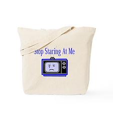 Stop Staring Tote Bag