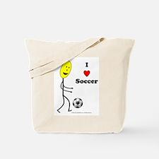 Soccer Happy Tote Bag