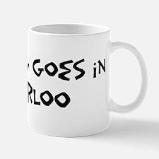 Waterloo - Anything goes Mug