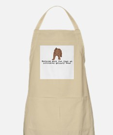 Irritated Grizzly BBQ Apron