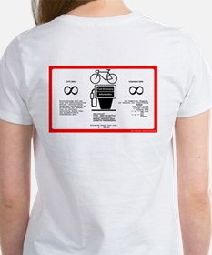 Get out and ride - mpg - Women's T-Shirt