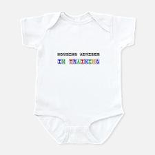 Housing Adviser In Training Infant Bodysuit