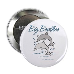 """Dolphins Big Brother 2.25"""" Button"""