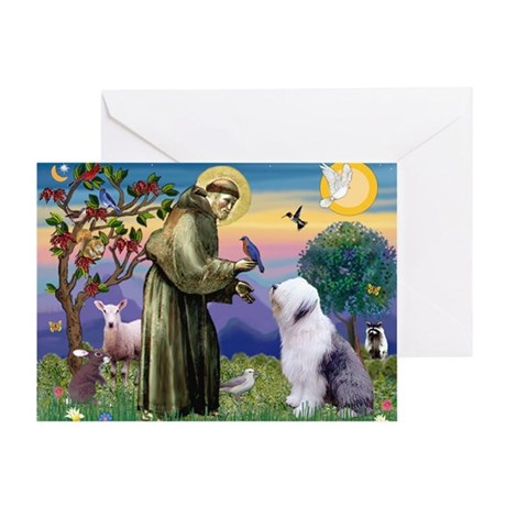 ST. FRANCIS + OES Greeting Card