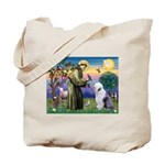 ST. FRANCIS + OES Tote Bag