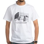 Professor of Graffiti White T-Shirt