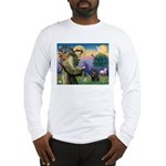 St Francis / Pug Long Sleeve T-Shirt