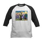St Francis / Rottweiler Kids Baseball Jersey