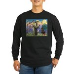 St Francis / Rottweiler Long Sleeve Dark T-Shirt