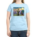 St Francis / Rottweiler Women's Light T-Shirt