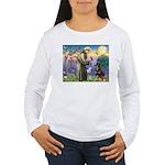 St Francis / Rottweiler Women's Long Sleeve T-Shir