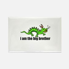 Dragon Big Brother Rectangle Magnet