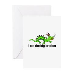 Dragon Big Brother Greeting Card