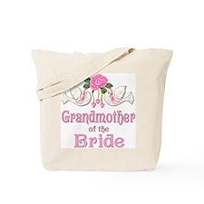 Dove & Rose - Grandmother of Bride Tote Bag