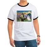 St Francis & Samoyed Ringer T