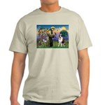 St. Francis/ St. Bernard Light T-Shirt