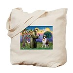 St. Francis/ St. Bernard Tote Bag