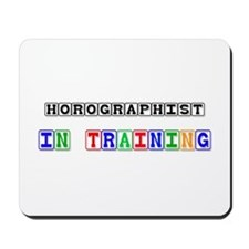 Horologist In Training Mousepad