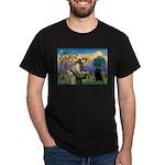 St Francis / Schipperke Dark T-Shirt