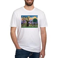 St Francis PS Giant Schnauzer Shirt