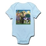 St Francis & Husky Infant Bodysuit
