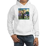 St Francis & Husky Hooded Sweatshirt