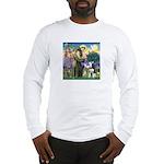 St Francis & Husky Long Sleeve T-Shirt