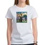 St Francis & Husky Women's T-Shirt