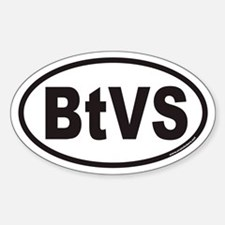 BtVS Euro Oval Decal